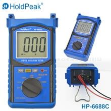 цена на HoldPeak 6688C digital Megohmmeter Insulation Resistance Tester Electrical Resistance Meter 20G(ohm) 100V/250V/500V/1000V