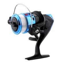 Magic Spinning Fishing Reel High Speed Sea With Line Roller 200 3BB Ball Bearing 5.1:1 Saltwater Freshwater Fish Wheel