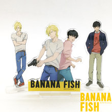 Love Thank You BANANA FISH Ash Okumura Eiji acrylic stand figure model plate holder cake topper anime(China)