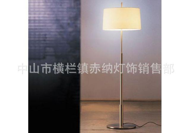 scandinavische minimalistische vloerlamp creatieve mode ikea een verticale staande lamp woonkamer slaapkamer bedlampje stof