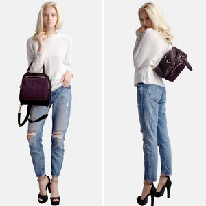 Image 3 - 2018 Brand New Women Real Suede Leather Shoulder Bag Fashion Leisure Doctor Hangbag For Female Hobe Top handle Bags Girls Sac
