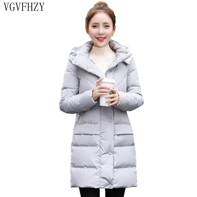 Women 2018 Winter 90% White Duck   Down     Coat   Hoodies Female Fashion Jacket   Coats   Winter Jacket   Coat   Long Plus Size   Down     Coats