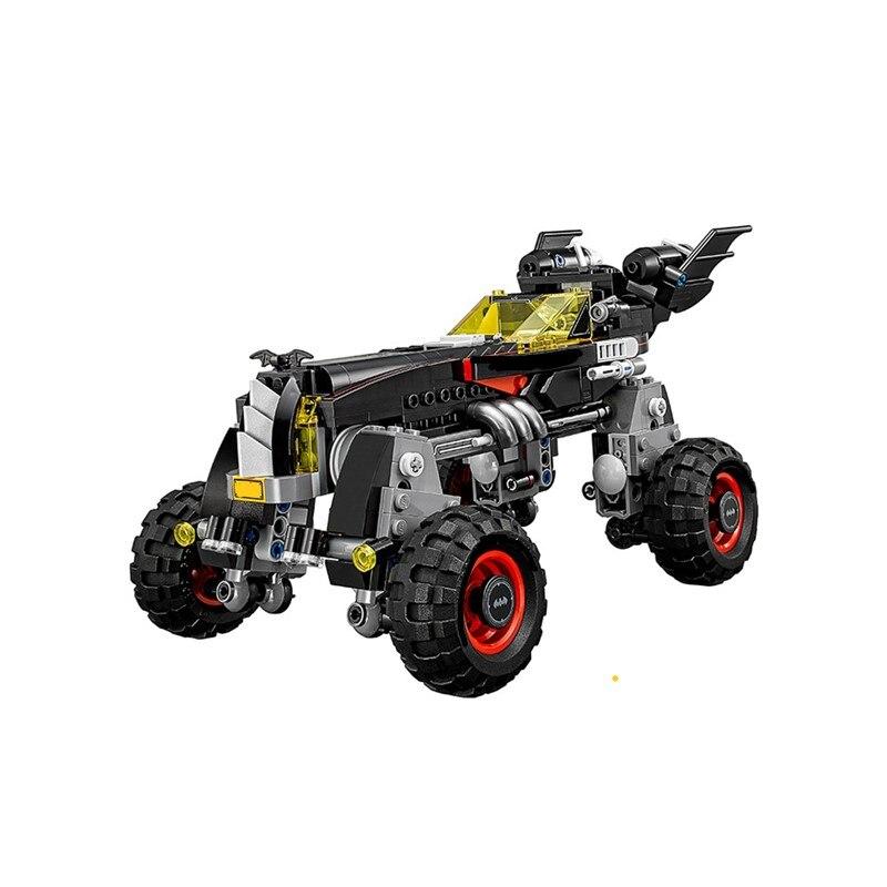 Batman The Ultimate Batmobile Race Car Batman Super Heroes Movie Batimovil Building Blocks Toys For Children