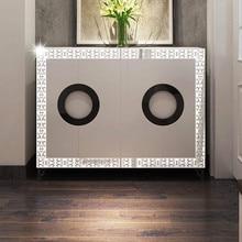 10pcs DIY Modern Acrylic Plastic Mirror Sticker Ar hall Bedroom  20*8cm Wall Sticker vinilos decorativos para paredes Room Decor
