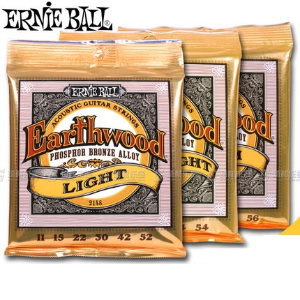 Ernie Ball Earthwood Acoustic Guitar Strings Phosphor Bronze Alloy 2148 2146 2144