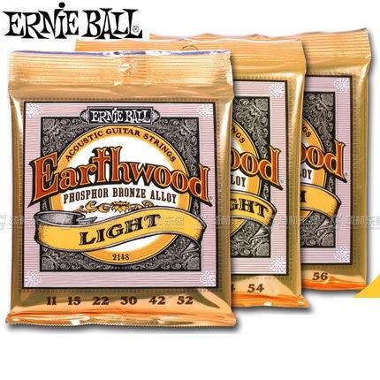 Ernie Ball Earthwood Acoustic Guitar Strings Phosphor Bronze Alloy 2148 2146 2144