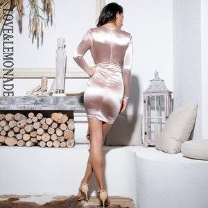Image 5 - فستان مثير للحفلات على شكل v على شكل حرف v من LOVE & LEMONADE ، فستان LM81639 عاري
