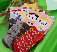 Cool Snow Socks with a funny face , I can't explain it !