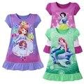 Monkids Bebê Meninas Vestidos de Roupas de Natal Meninas Vestido Vestidos Da Menina Do Bebê Camisolas Nightdress Pijamas Roupa Das Crianças