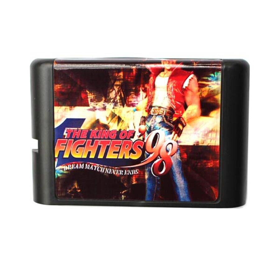 The King Of Fighters 98 16 Bit Game Card For Sega Mega Drive & Sega Genesis