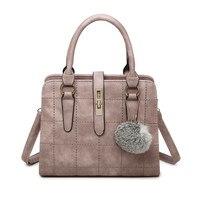 Brand 2017 New Fashion Leisure PU Leather Plaid Handbags Hotsale Ladeis Shopping Bag Small Shoulder Messenger