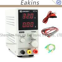 LW 3010D 30V 10A 5A Mini Adjustable Digital Laboratory DC Switching Power Supply 110V 220V US/EU/AU Plug + Multimeter Probe