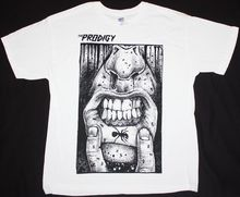 THE PRODIGY FAT LIP HARDCORE TECHNO DANCE INDUSTRIAL BAND NEW WHITE T-SHIRT Printed T Shirts Short Sleeve Hipster Tee