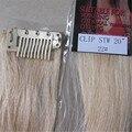 """5 unids nuevo comercio precio 20 """" colorido color mujeres de Remy pelo humano recto clip en extensiones de cabello 5 g/Pcs Light Golden Blonde #22"""