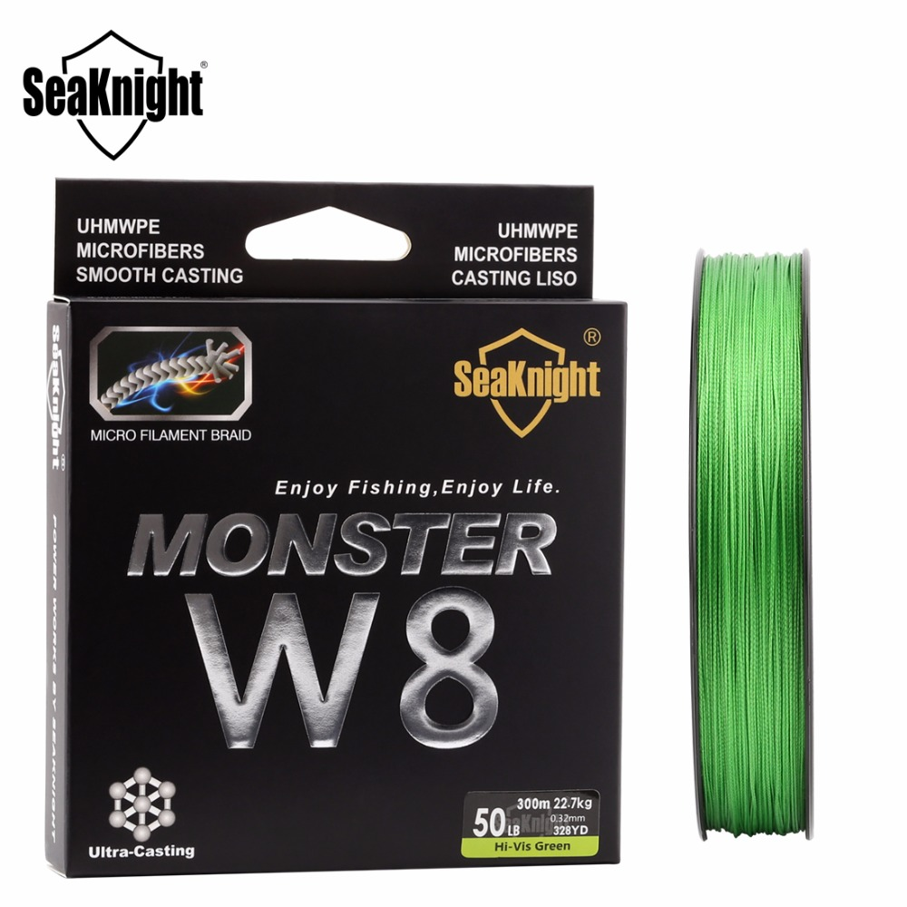 SeaKnight Monster W8 Super Starke 300 Mt 8 Stränge Spinnt PE ...