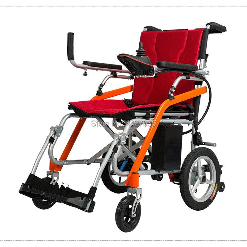 2019 Good quality Ultralight blushless power electric font b wheelchair b font net weight 13kg capacity