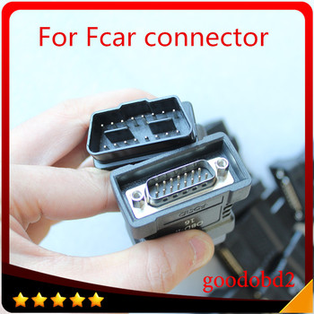 For FCAR OBDII 16 Pin Connector OBD-II cable Car Scanner OBD 2 F3-A/F3-W/F3-D/F3-S Connecter  Auto Diagnostics OBD2 Adaptor