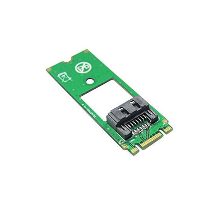 M.2 NGFF SATA to 7Pin SATA Converter Adapter card