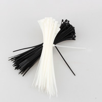 100 Pieces Pack 350 2 8mm Locking Plastic Nylon Cable Ties Car Wire Ties Wrap Fasten