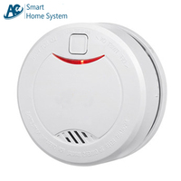 10 year Battery Smoke Alarms Independent Standalone Photoelectric Fire Alarm System Smoke Detector