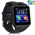 Smart Watch dz09 С Камерой Bluetooth Наручные Часы Sim-карты Smartwatch Для Ios Android Телефоны Поддержка Нескольких языков мужчины женщины