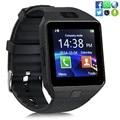 Smart watch dz09 con cámara tarjeta sim reloj de pulsera bluetooth smartwatch para android ios teléfonos soporte multi idiomas hombres mujeres