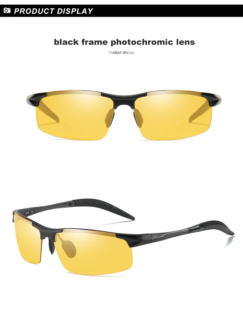 HTB1NtCubsnrK1RjSspkq6yuvXXaS - Aluminum Magnesium Photochromic Sunglasses Polarized Night Vision Glasses Men Oculos Driver Yellow Driving Glasses gafas de sol