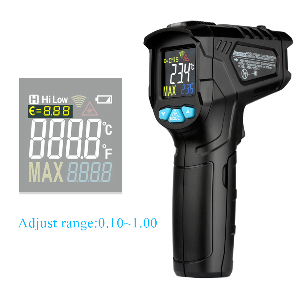 MESTEK IR01 digital thermometer feuchtigkeit meter infrarot thermometer hygrometer temperatur feuchtigkeit meter pyrometer