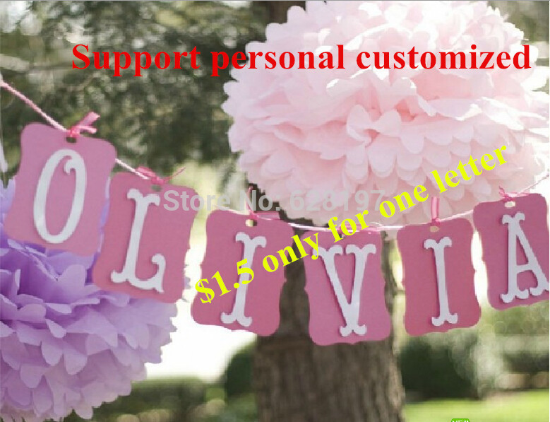 personal customize a z letters just married happy birthday pretty