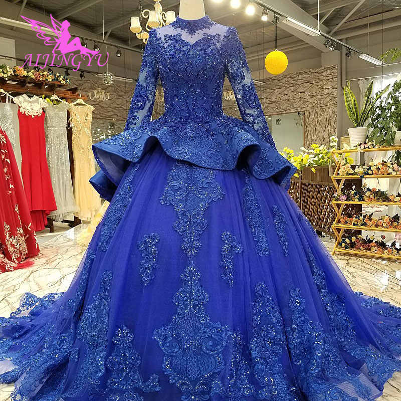 Aijingyu Designer Wedding Dresses German Gowns Reception Frocks For Bride Import Lebanon Elegant Gown Gothic Sexy Wedding Dress Aliexpress
