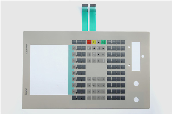 Membrane keyboard for 6AV3637-7AB16-1AM0 SlMATIC OP37,Membrane switch , simatic HMI keypad , IN STOCK new membrane keyboard 6av6 542 0bb15 2ax0 for slmatic hmi op170b new keypad membrane switch simatic op170b hmi keypad in stock