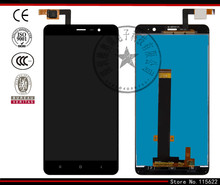 LCD display screen for Xiaomi Redmi Note 3 Cell Phone, (black,white,golden, original (PRC), with touchscreen)