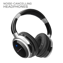 Headphones Noise Cancelling Headset Earphone Wireless Bluetooth Hi-Fi Stereo Voice