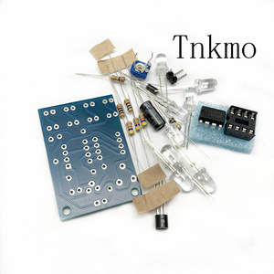 Parts-Kit Light-Lm358 Breathing-Lamp Electronics-Diy-Kit Blue 5MM Interesting-Product-Suite