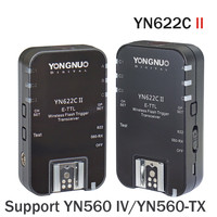 YONGNUO YN622CII HSS E TTL Flash Trigger for Can Camera Compatible With YN622C YN560 TX RF 603 II RF 605