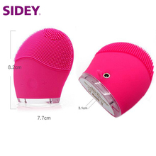 Chubby skin care tool vibrating waterproof cleansing brush for acne treatment home use