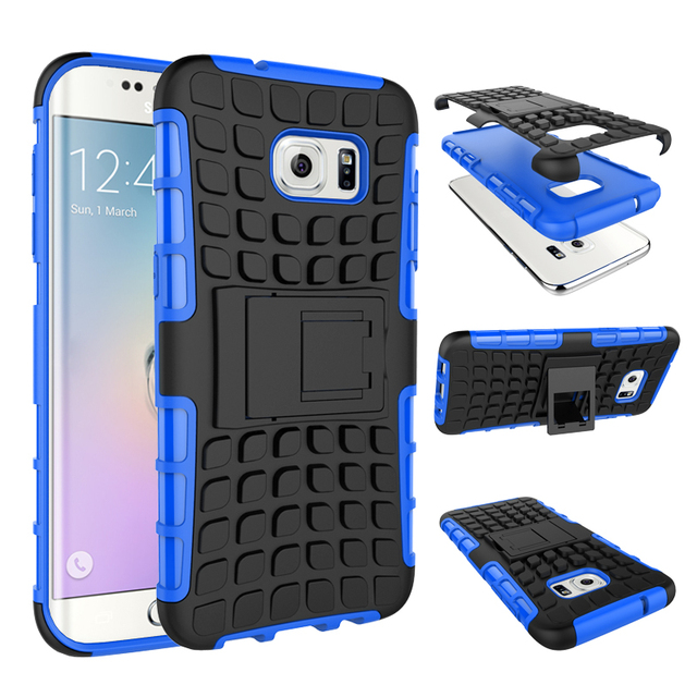 rugged armor cover impact heavy duty hybrid stand case for samsungrugged armor cover impact heavy duty hybrid stand case for samsung galaxy s7 edges7 s6 edge plus s5 shockproof accessories case