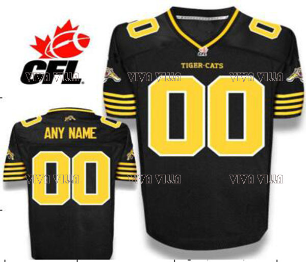 Hamilton Tiger Cats Jersey 2 Johnny Manziel Custom Any Name Any Number Stitched American Football Jersey S-4XL Free Shipping custom your own logo design palyer s name and number sublimation print men s football team jersey personality customization