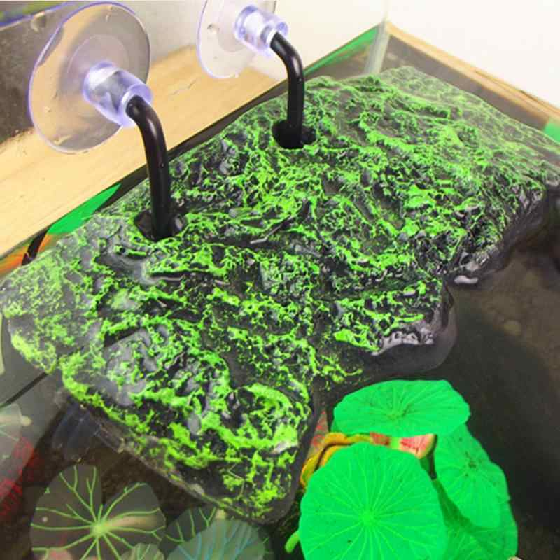 Aquarium Tank Floating Sucking Disc Turtle Dock Basking Terrace Island Platform Aquarium Decor