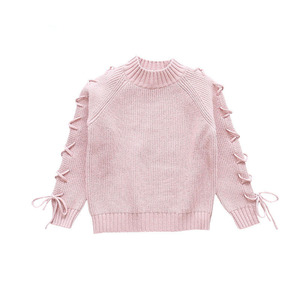 Image 5 - בנות סוודרים 2020 סתיו חורף כותנה הסטודנטיאלי ילדים סרוג תינוקת סוודר סוודרי ילדי בגדי 4 6 8 9 10 12 13 שנים