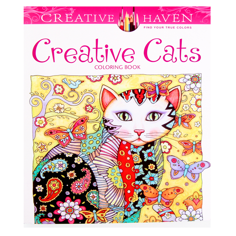 Creative Cats Colouring book Childhood Dream Painting Drawing coloring Books Painting Creative Haven Release Pressure New YorkCreative Cats Colouring book Childhood Dream Painting Drawing coloring Books Painting Creative Haven Release Pressure New York