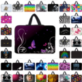 7/10/12/13/14/15/17 inch laptop notebook sleeve bag computer pouch neoprene zipper cover cases for lenovo acer dell samsung asus