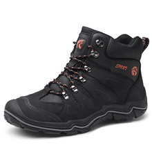 News Mens Hiking Boots Waterproof Mountain Trekking Shoes Breathable shoes Leather Outdoor Sports Sneaker Hunting