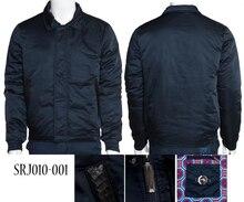 TACE & SHARK пиджак миллиардера для мужчин 2018 Запуск коммерции комфорт высокого Ткань меховой воротник хлопок Открытый носить Бесплатная доставка