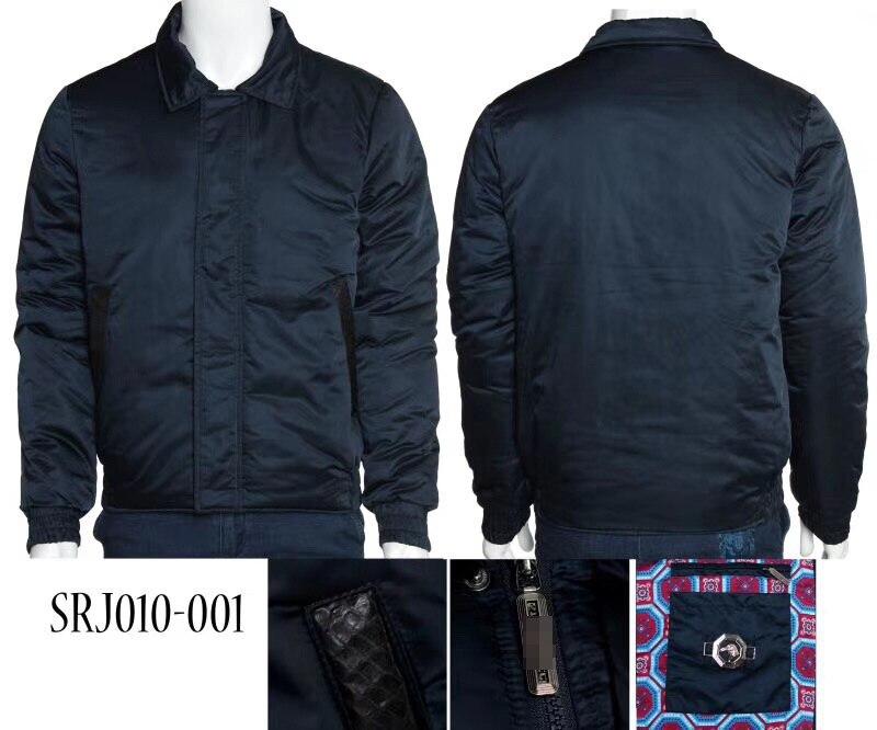 TACE & SHARK BILLIONAIRE uomini giacca 2018 lancio commercio comfort di alta tessuto di collo di pelliccia di cotone all'aperto che indossa il trasporto libero