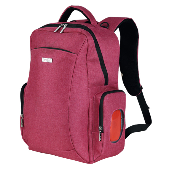 insular Large Capacity Women Diaper Bag Backpack Waterproof Baby Stroller Bag Available Fashion Mummy Nappy Bags Rose red insular fashion baby bag multifunction mummy bag for stroller large capacity baby diaper bags nappy bags baby diaper backpack