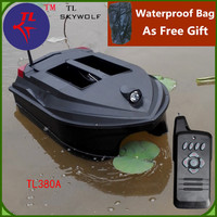 Free Bag Dual Body Intelligent Remote Control Fishing Boat TL 380A 3KG Load 3.5H Life Large Layout of fishnet RC Bait Boat Toy