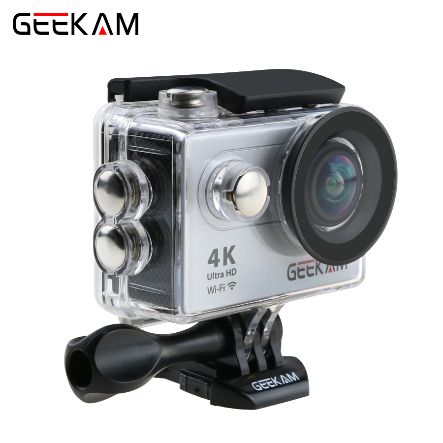 Original Action Camera GEEKAM H9 H9R Ultra HD 4k WiFi 1080P 2.0 LIVE 170D Sport Camera Waterproof Helmet Sport Camera 2017 arrival original eken action camera h9 h9r 4k sport camera with remote hd wifi 1080p 30fps go waterproof pro actoin cam