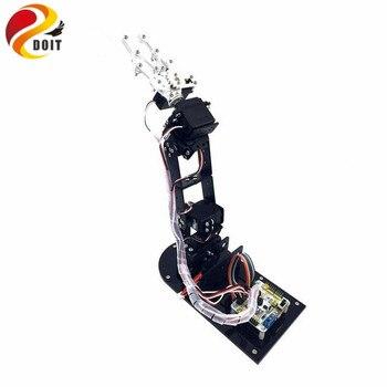 Official DOIT  5DOF Mechanical Arm Metal Structure Holder Kits w/ Metal Servo Horn for Robot Teaching Platform