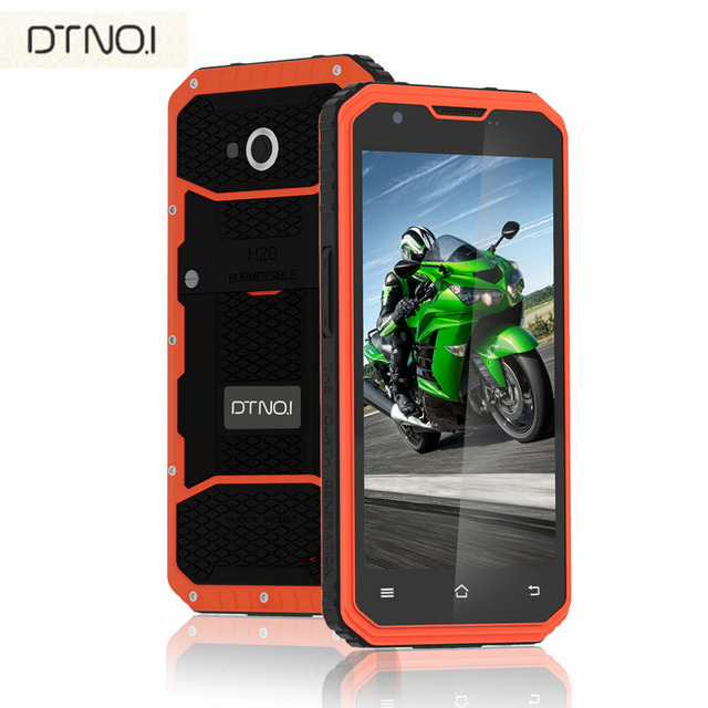 DTNO.I Vphone M3 5.0 inch HD Waterproof IP68 Mobile Phone Android 5.1 MTK6735 2GB RAM 16GB RAM 4G Smartphone 4500mAh Battery